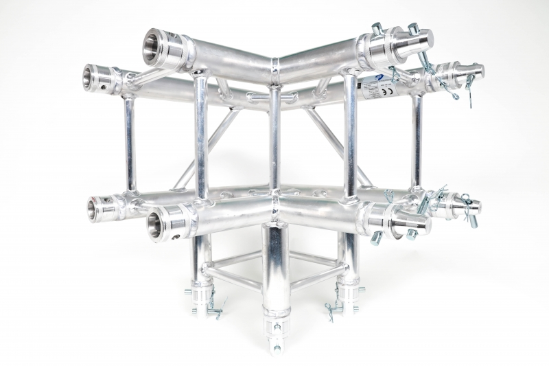 Global Truss F34C30 90° 3-Wege Ecke